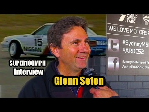 GLENN SETON ARRIVES 1983-1987 - Interview