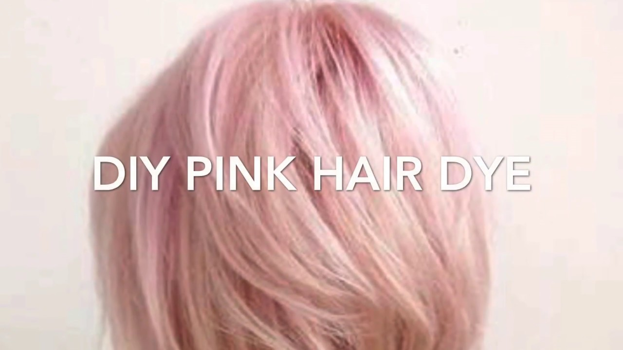 D.I.Y temporary pastel hair dye - YouTube