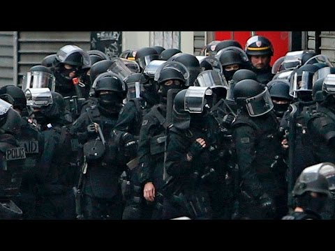 French police raid north Paris suburb of Saint-Denis