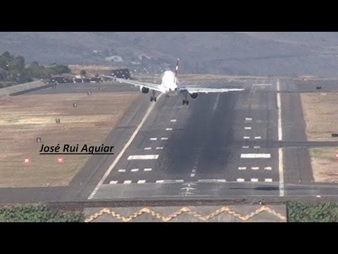 Aviões da Alemanha Inglaterra e Portugal não conseguem aterrissar Aeroporto Madeira Potência Máxima