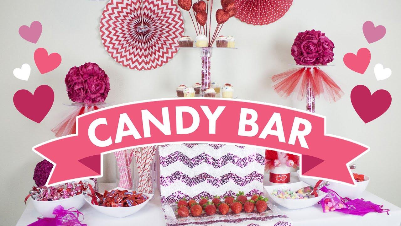 candy bar set up youtube. Black Bedroom Furniture Sets. Home Design Ideas
