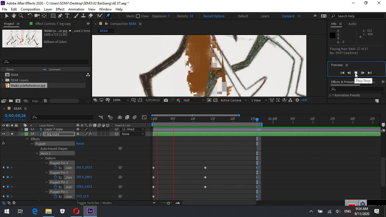 After Effects 08b