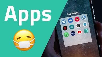 Apps für die Quarantäne (Videoanrufe, Streaming, Fitness, Lernen)