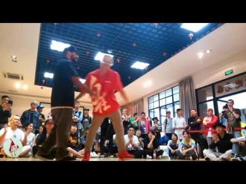 Boogie Frantick VS Bboy Aya  FunkStyle Battle   BIS 2016 (CHINA SHANGHAI)