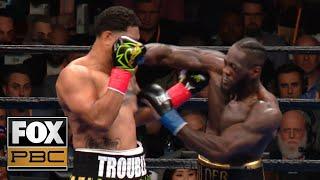 Wilder breaks down Breazeale KO | ReplayKO | PBC ON FOX