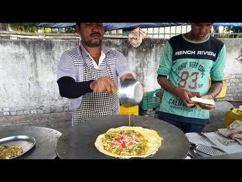 Surti Omelette Keema Roll ||Anda Keema Roll || Egg Keema Roll || Surti Egg Dosa || Surat Street Food