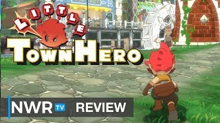 Little Town Hero (Switch) Review (Video Game Video Review)