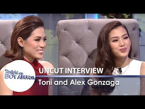 TWBA Uncut Interview: Toni & Alex Gonzaga