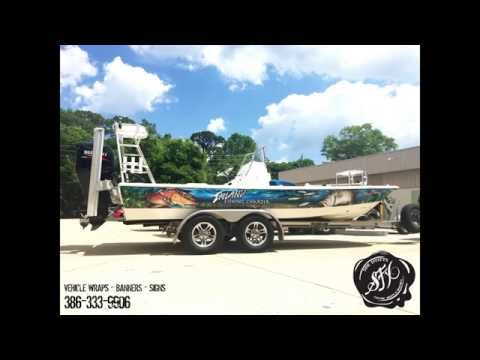 Boat Wrap for Inland Fishing Charter