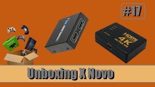 Unboxing de Novo (HDMI SPLITTER/SWITCH HDMI) - Parte 17