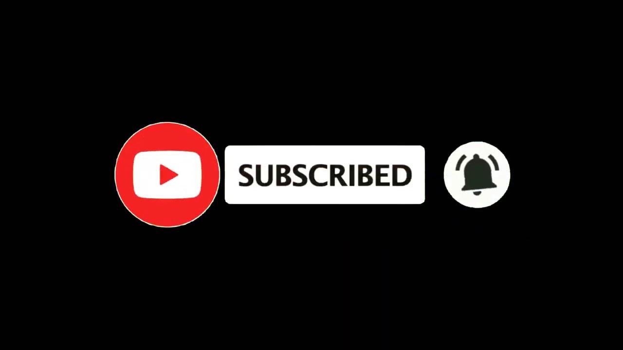 Subscribe Black Screen Youtube Youtube Logo Video Design Youtube Youtube Banner Design