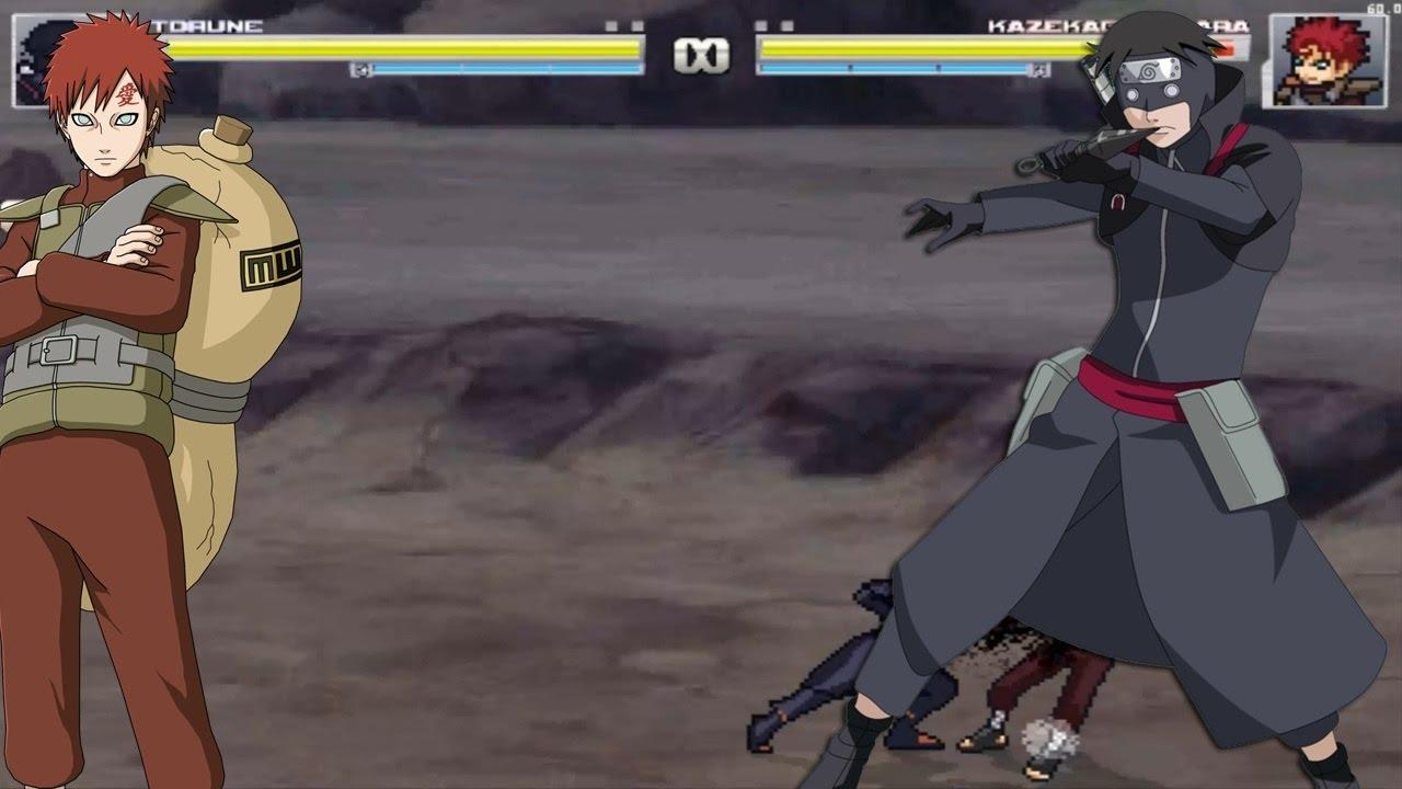 Naruto shinobi wars v6 kyubi vs cs2 sasuke youtube.