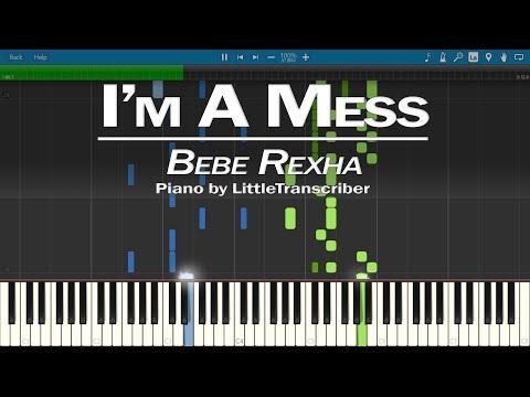 Bebe Rexha - I'm A Mess (Piano Cover) by LittleTranscriber