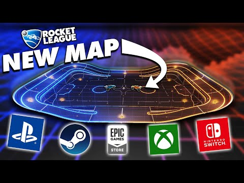 The *NEW* Rocket League Map That EVERYONE Can Play!