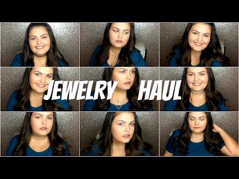 Choker Jewelry Haul | Forever 21 | Amazon | First Impressions