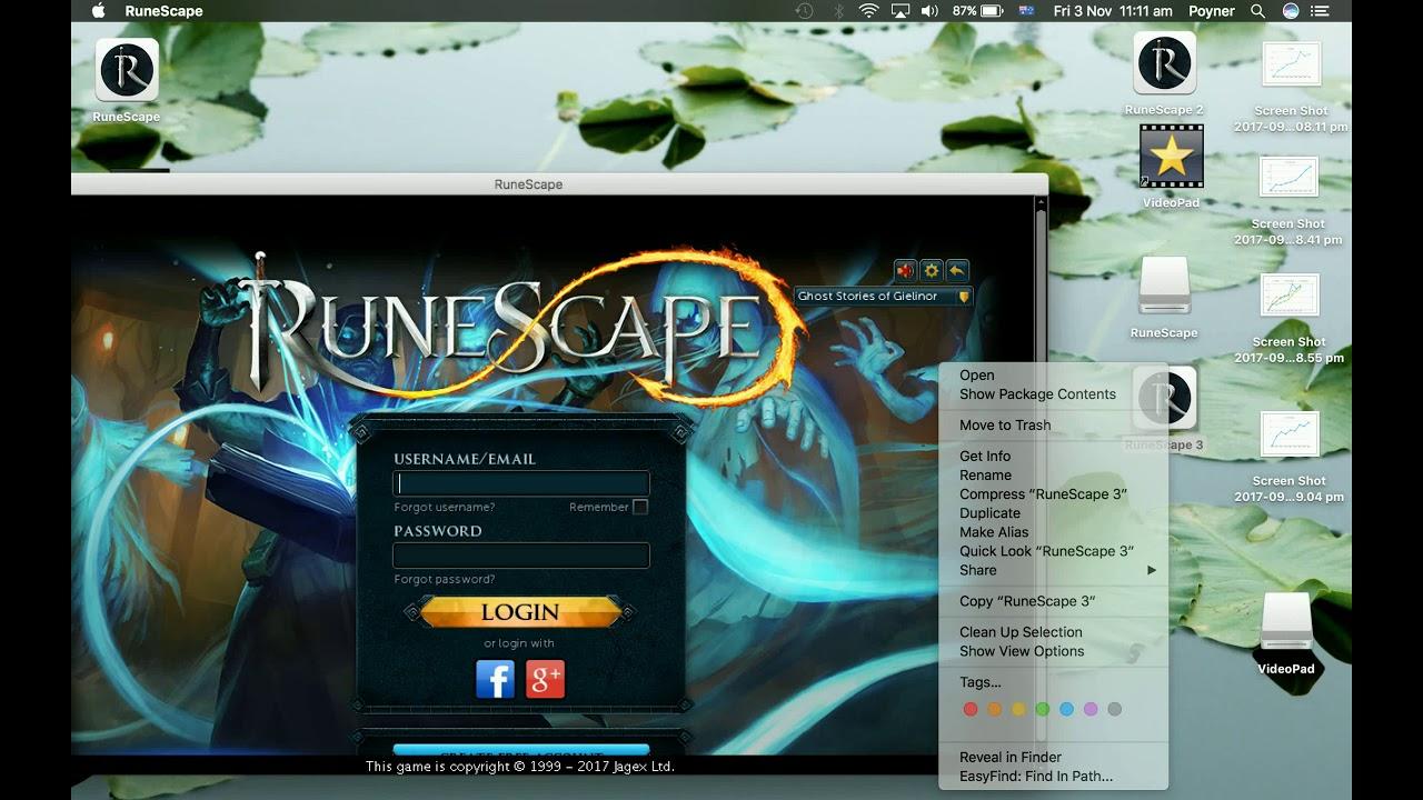 How to Download Oldschool Runescape on Mac 2017