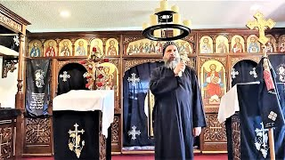 HG Bishop Youssef: Noon Pascha ~ Wednesday: 3rd, 6th, 9th, 11th Hours @ SMSM Abbey, TX ~ 04/15/2020