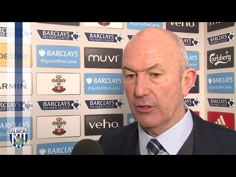 Tony Pulis reflects on today's 3-0 defeat at Southampton in the Premier League