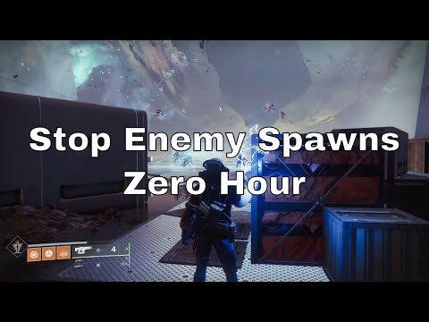 Destiny 2': Preventing enemy spawns during the Zero Hour boss battle