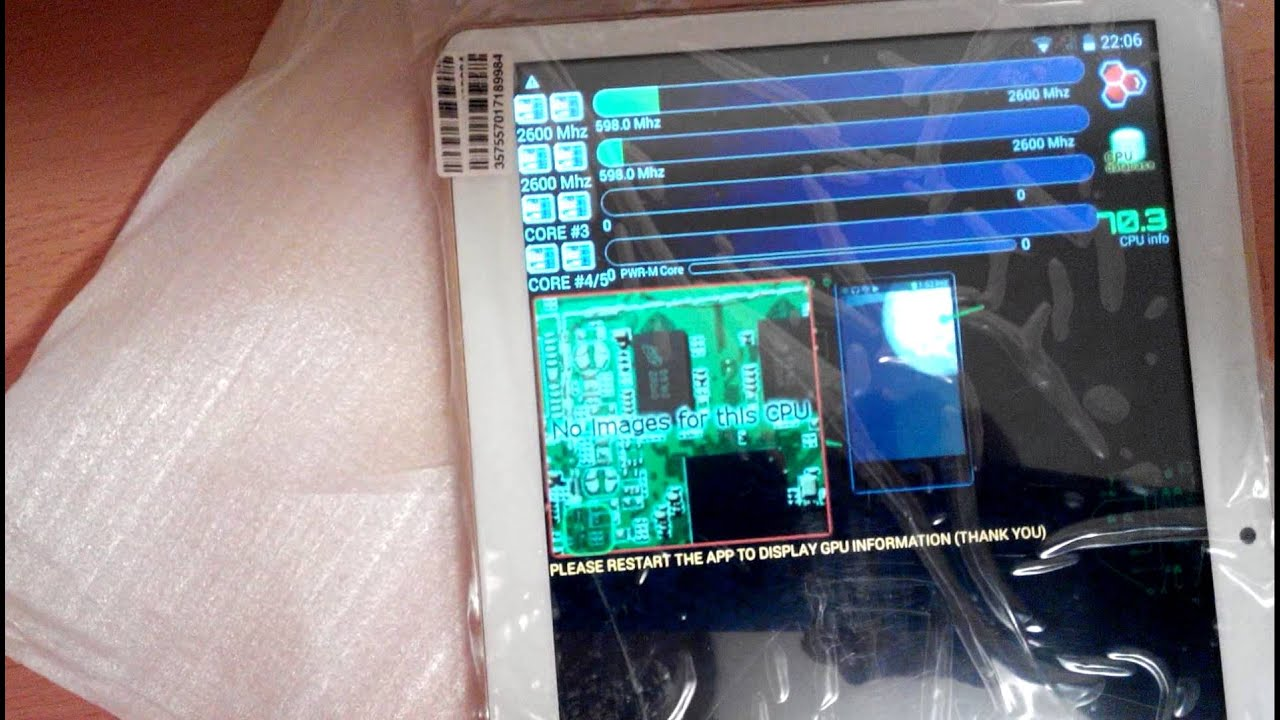 fake MTK-tablet from China
