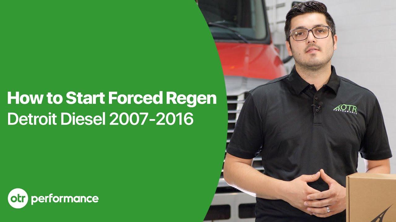 How to Start Forced Regen on Freightliner Detroit Diesel DD15 | OTR  Performance