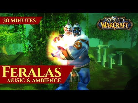Feralas - Music & Ambience (30 minutes, 4K, World of Warcraf