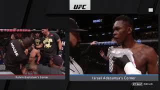 UFC 236 MIDDLEWEIGHT INTERIM TITLE BOUT KELVIN GASTELUM VS ISRAEL ADESANYA