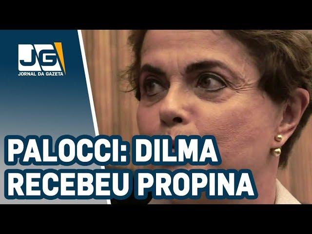 Palocci confirma que Dilma recebeu propina de Joesley Batista