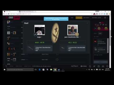 CSGO LOTTO COIN FLIPS (KNIFE BETS!!)