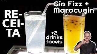 2 DRINKS FÁCEIS COM GIN | RECEITA