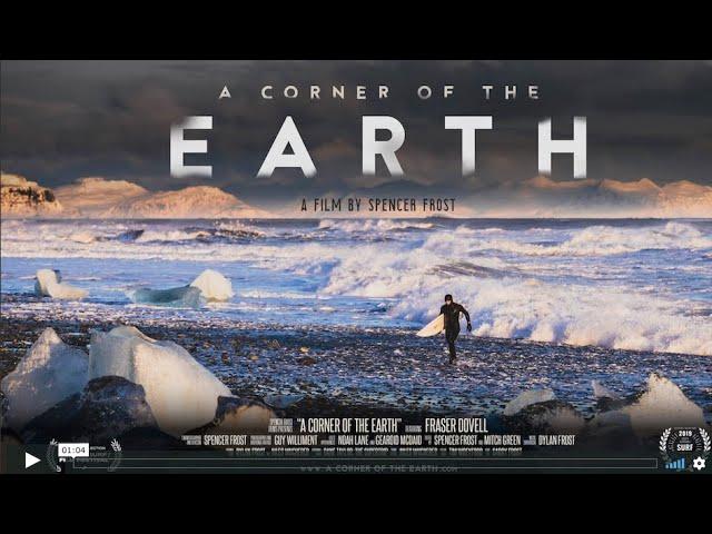 A CORNER OF THE EARTH Trailer - Ocean Film Festival World Tour 2020 Australia