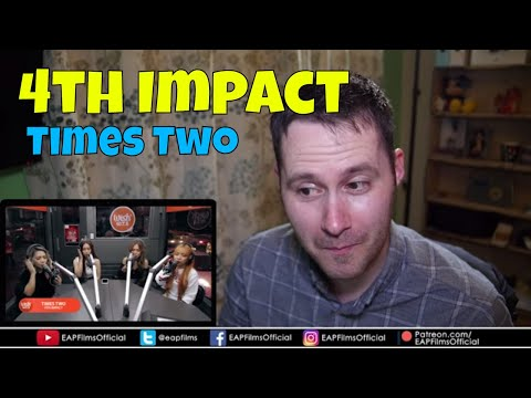 4th Impact performs Times Two LIVE on Wish 107.5 | REACTION