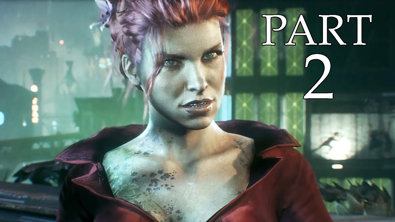 Poison Ivy for Batman Arkham Knight Game   POISON IVY