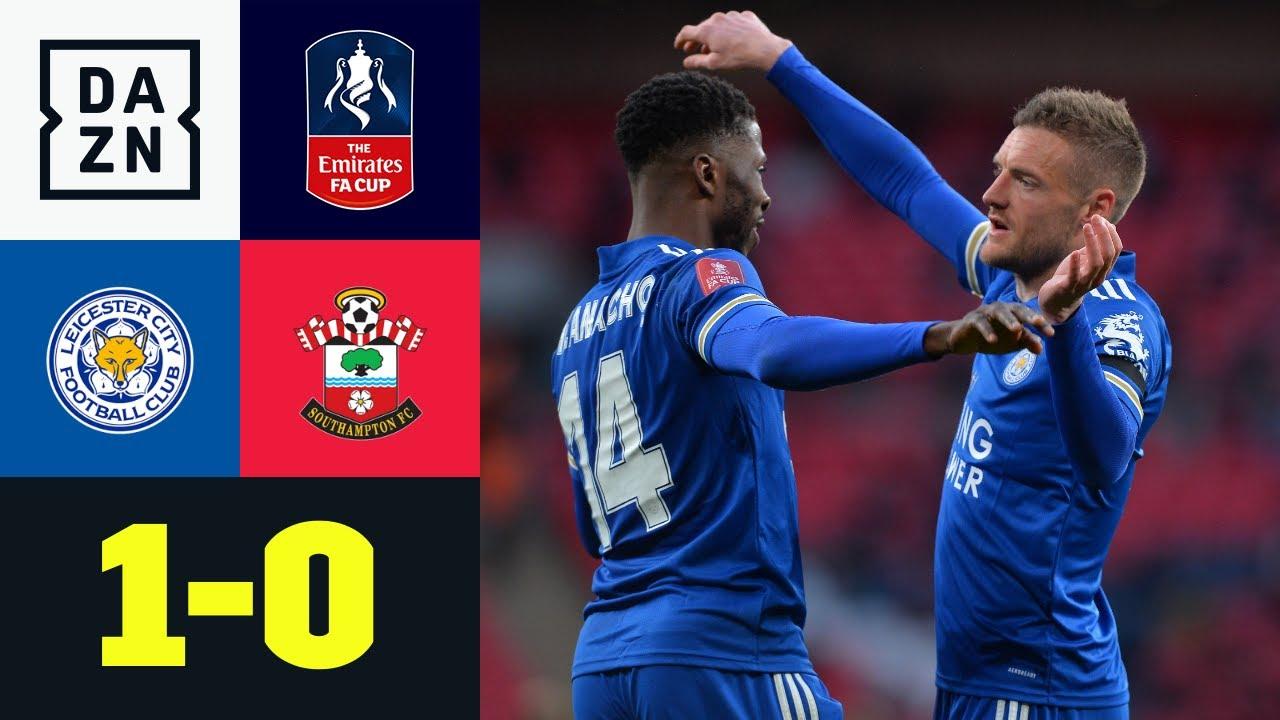 Aus für Hasenhüttl! Leicester dank Iheanacho im Finale: Leicester - Southampton 1:0 | FA Cup | DAZN