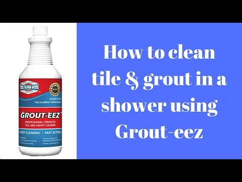 Cleaning Tile and Grout in a Shower (Step by Step)