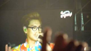 TOP talking @ Korean Music Wave Malaysia 2011
