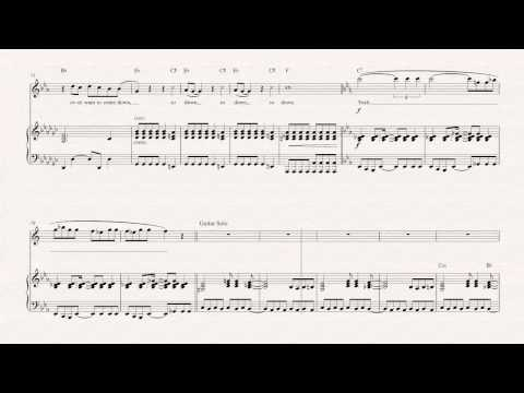 Alto Sax  - Welcome to the Jungle - Guns N' Roses -  Sheet Music, Chords, & Vocals