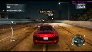 Need For Speed The Run maxed out ucapped fps Part 1 -interstate gameplay