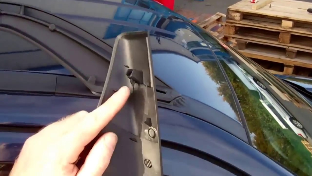 How To Fit Roof Rack Rails On A Land Rover Freelander 2