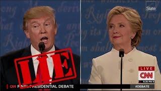 Jedes Mal, wenn Trump Lied Während der Letzten Debatte