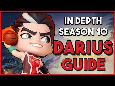 How To Play: DARIUS Top Lane Guide For SEASON 10 League Of Legends