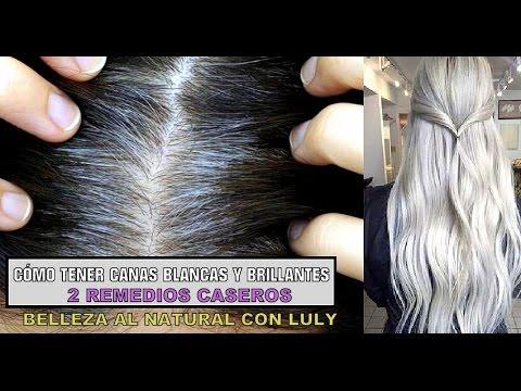 como cuidar el cabello canoso naturalmente
