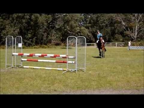 jumping a single barrel upright!