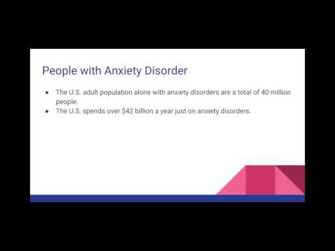 Psychology Presentation on Anxiety Disorders