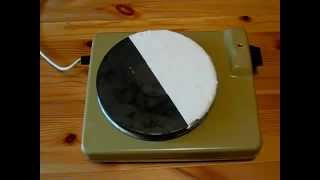 Эксперимент применение Изоллат с электро-плиткой(, 2015-02-21T08:27:32.000Z)