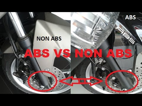 ABS in bikes/scooter