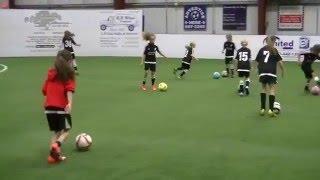 U9 Elite Liverpool Girls Soccer Team