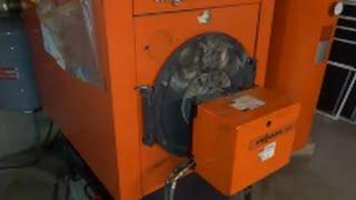 viessmann boiler/riello burner service