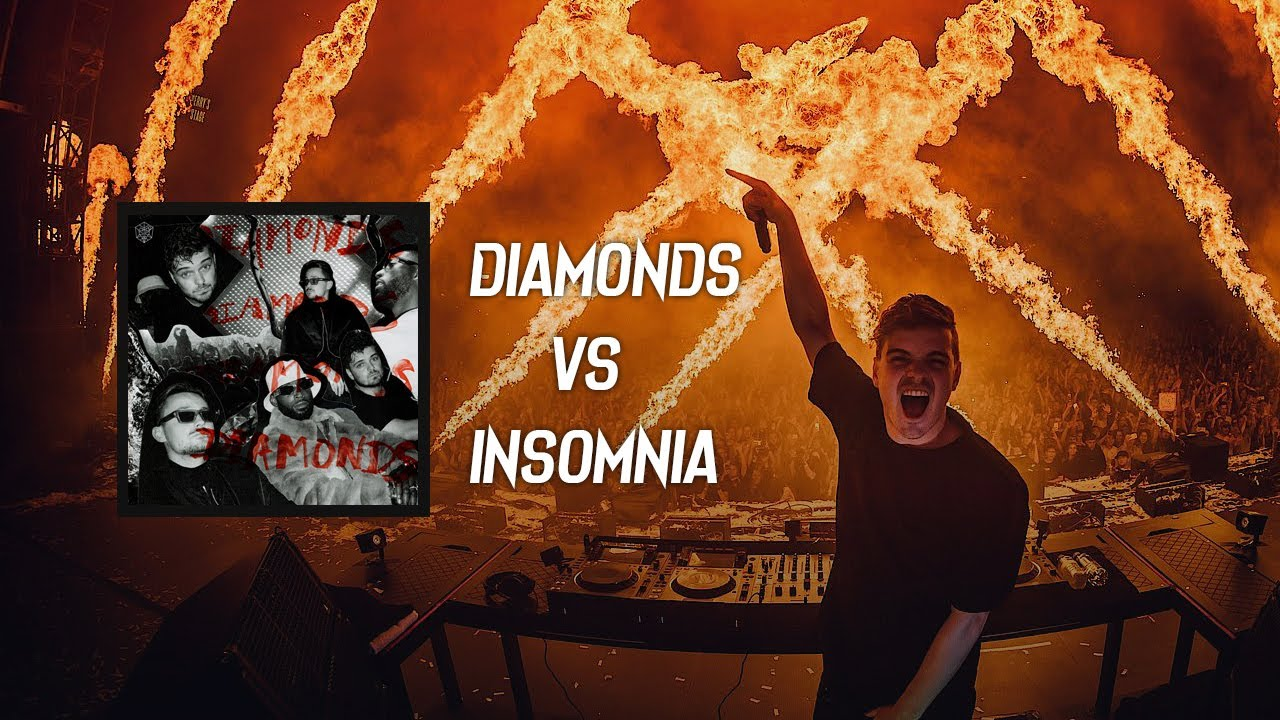 Martin Garrix, Julian Jordan vs Faithless - Diamonds vs Insomnia (DJ MO Mashup)