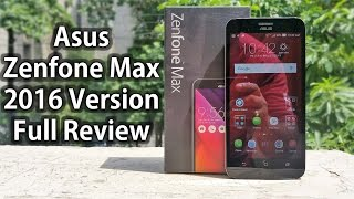 Asus Zenfone Max 2016 Unboxing & Full review - Nothing Wired